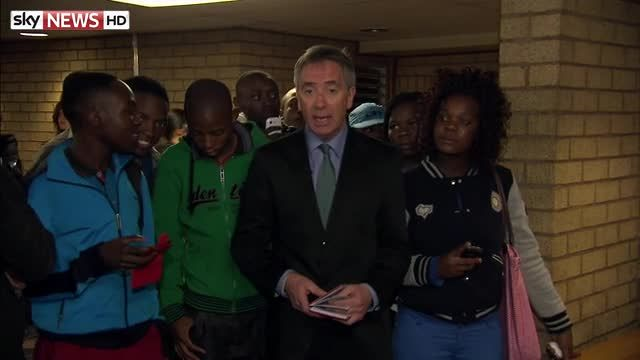 News video: Pistorius Trial: Sky's Martin Brunt