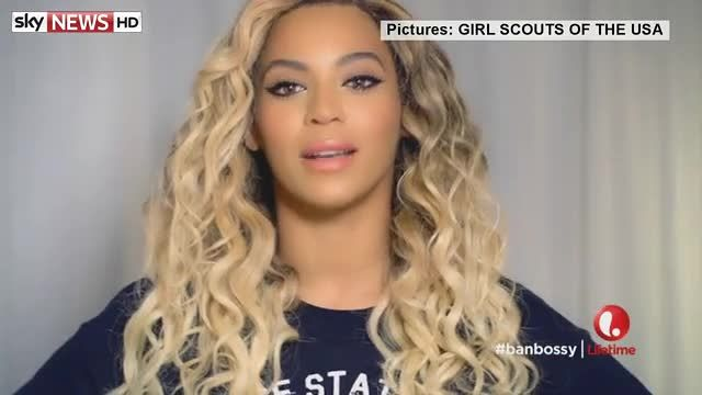 News video: Stars back the Girl Scouts of the USA 'Ban Bossy' Campaign