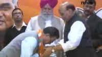 News video: RAJNATH WELCOMES TWO AGP LEADERS INTO BJP FAMILY