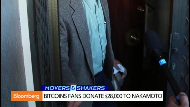 News video: Bitcoin Fans Donate $28,000 to Nakamoto