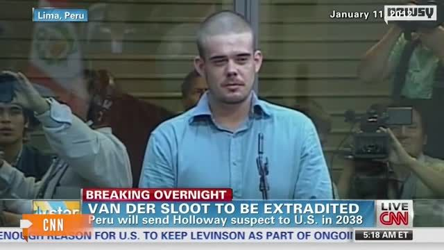 News video: Van Der Sloot To Be Extradited ... In A Few Decades