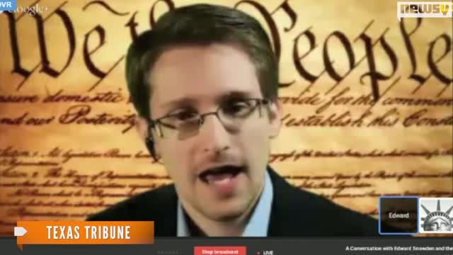 News video: Snowden At SXSW: NSA Is 'Setting Fire' To The Internet