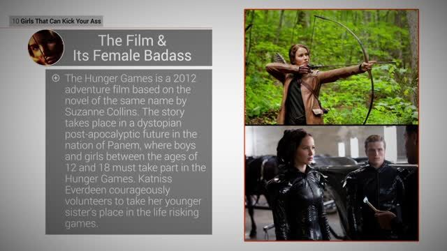 News video: Kick-Ass Girls: 10 Katniss