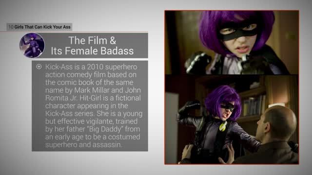 News video: Kick-Ass Girls: 8 Hitgirl