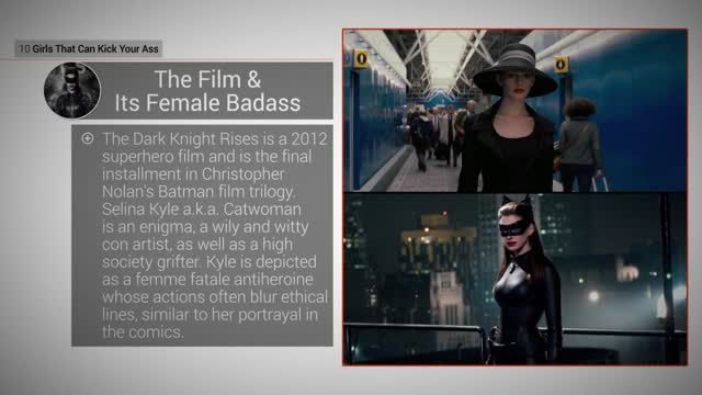 News video: Kick-Ass Girls: 9 Catwoman