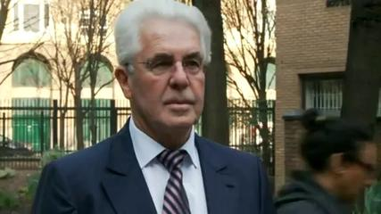 News video: Max Clifford arrives at court