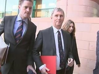 News video: Nigel Evans arrives for trial
