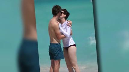 News video: Anne Hathaway Gets Passionate with Hubby Adam Shulman
