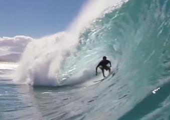 News video: Gabriel Andre in Hawaii for Rip Curl Grom Camp 2014
