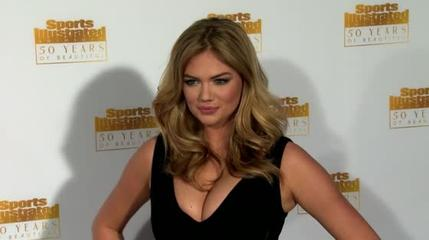 News video: Kate Upton Threatens Lawsuit Over Fake Naked Photos