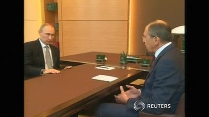 "News video: Lavrov: Russia has proposals to resolve Ukrainian ""situation"""